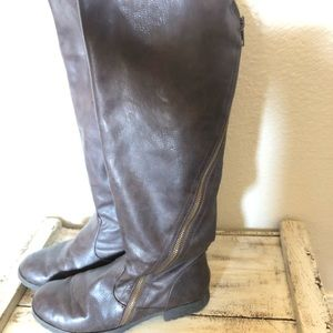 Brown Knee High Boots, Size7